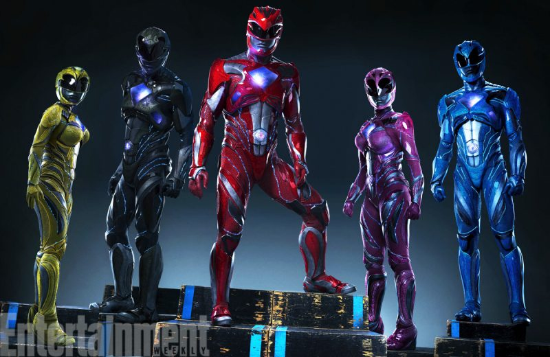 The New Power Rangers Costumes Are A Little Too Futuristic