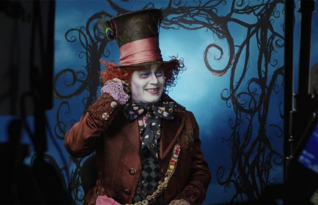 Johnny Depp Surprises Disneyland Visitors As The Mad Hatter