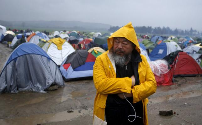 Ai Weiwei Is Making A Film Focusing On The Refugee Crisis