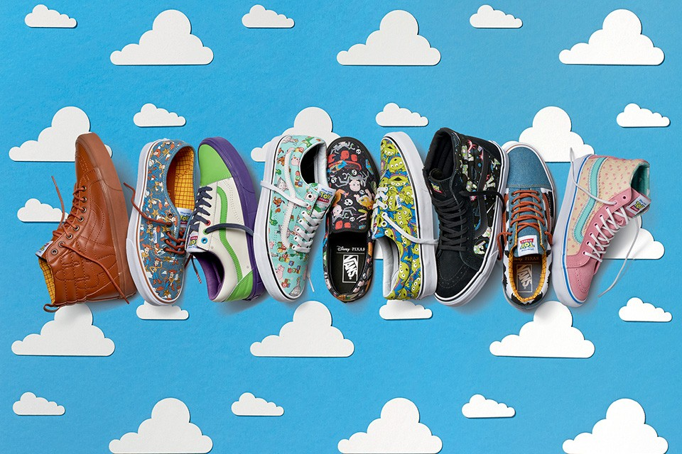 Reach For The Sky With The Vans x Toy Story Collab